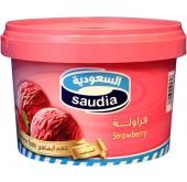 ايسكريم السعودية فراولة 2ل