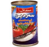 سردين صلصة طماطم حار مكاتي 155جرام