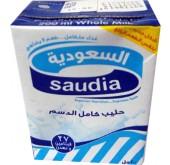 حليب السعودية كامل الدسم 200مل