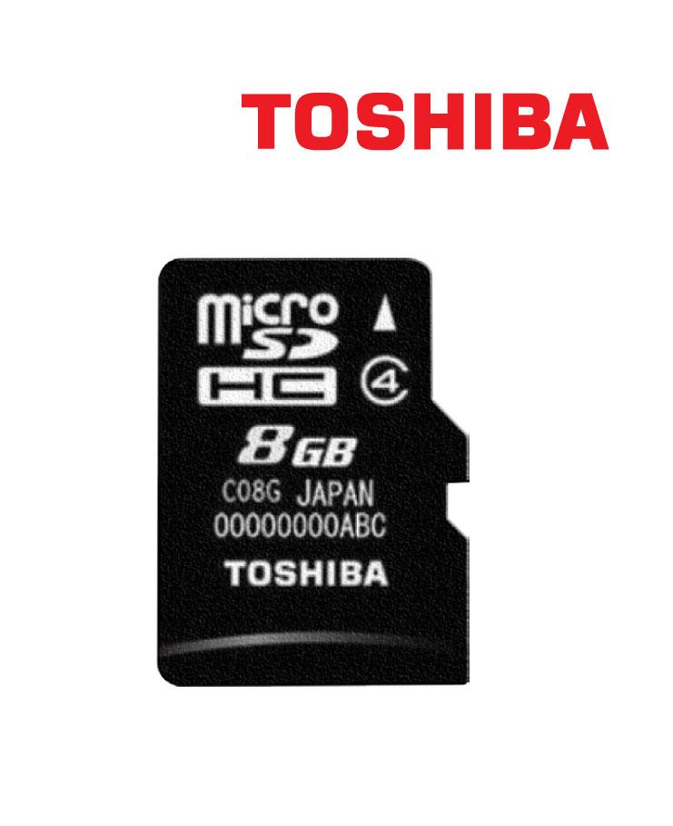 ذاكرة توشيبا مايكرو 8ج/بايت